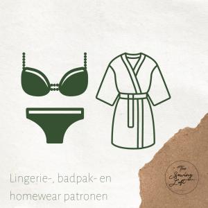 Lingerie, badkledij en homewear