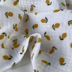 Lemons – double gauze tetra