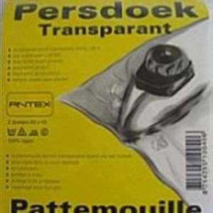 Strijkdoek – Persdoek transparant