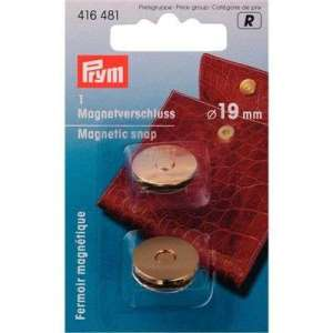 Prym Magneetsluiting goud 19mm -416481