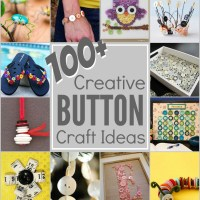 100+ Creative Button Projects