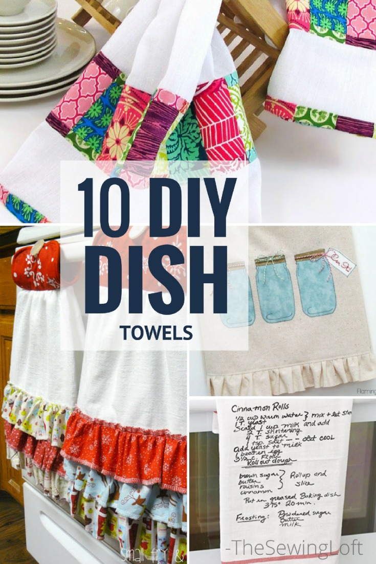 kitchen dish towels large white island 10 awesome diy towel patterns the sewing loft spice up your with these amazing projects easy to make