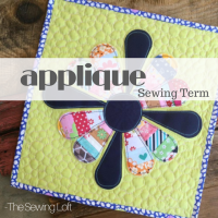 How to use an Applique Detail | Sewing Term