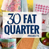 30+ Fat Quarter Friendly Sewing Projects