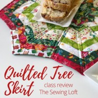 DIY Quilted Tree Skirt Video Class
