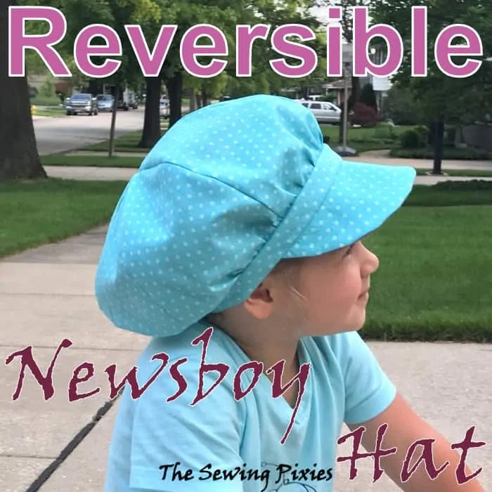 How To Sew A Reversible Newsboy Hat - The Sewing Pixies 0df668b031b3