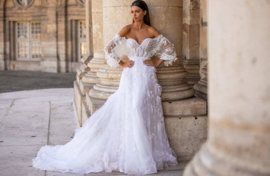 Wedding Dress Modeling for Cutting and Making