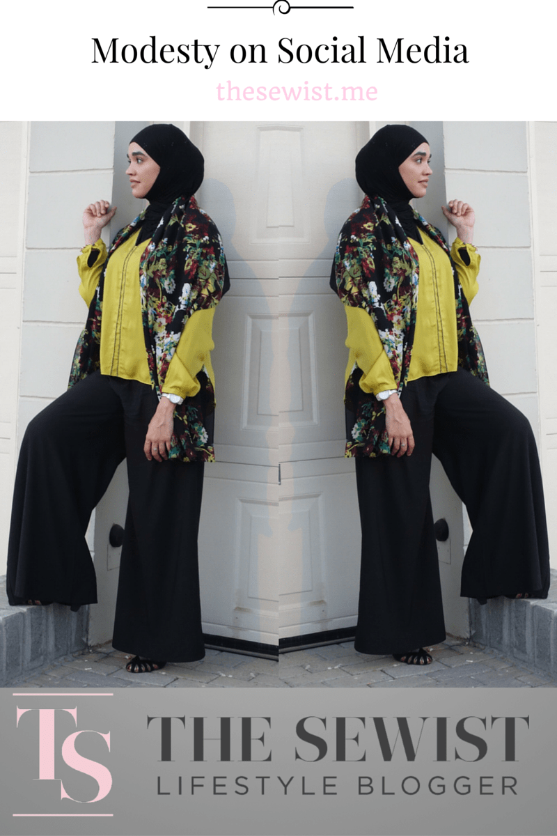 Modesty on Social Media |thesewist.me
