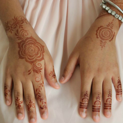 Tutorial How to Apply Henna Using Stickers | thesewist.me