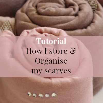 Quick Guide on How I Store and Organise My Scarves | thesewist.me