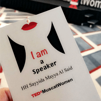 Tedx Muscat Women - My Life, My Choice | thesewist.me