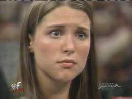 young Stephanie McMahon