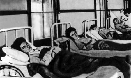 Mary Mallon in hospital