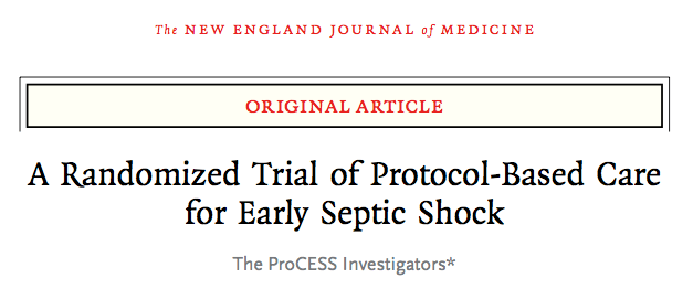 SGEM#69: Cry Me A River (Early Goal Directed Therapy) ProCESS Trial