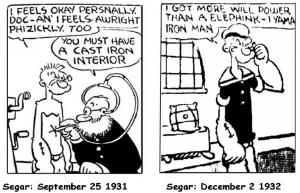 Popeye Iron Man
