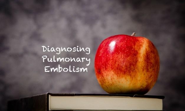 SGEM#295: Teacher Teacher – Tell Me How to Do It (Diagnose a PE)