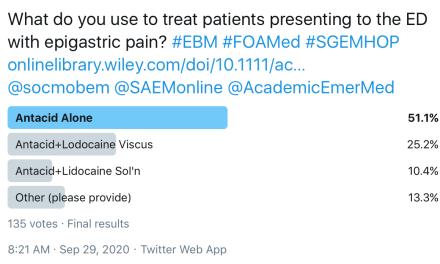 SGEM Twitter Poll #302