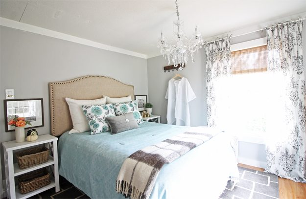 Modern Farmhouse Bedroom Makeover (all In A Weekend