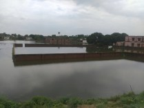 Babu Saleempur Eidgah during flood