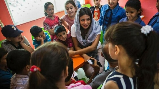Priyanka Chopra visits Syrian refugees, gets trolled and hits back with fitting reply