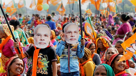 Gujarat Election 2017 BJP continues winning streak, to Form Government sixth time in Gujarat