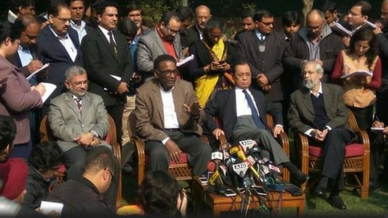 """""""The administration of the Supreme Court is not in order"""", Four SC judges come out against CJI"""