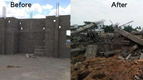 Sectarian conflict leads to demolition of under construction mosque