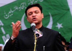 Babri Masjid politics of polarization Owaisi donated Rs 1.62 Cr to Muslim Personal Law Board