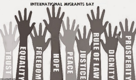 Image result for International Migrants Day painting