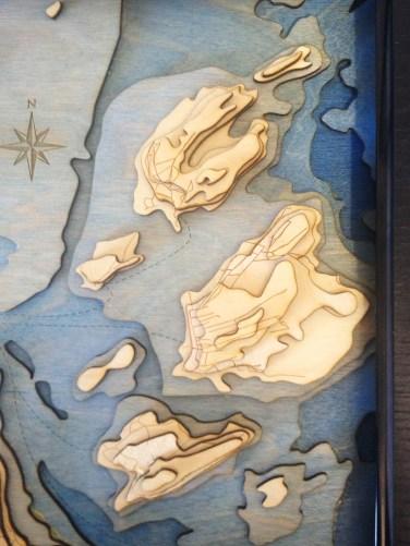 The islands bounding Portland harbor.