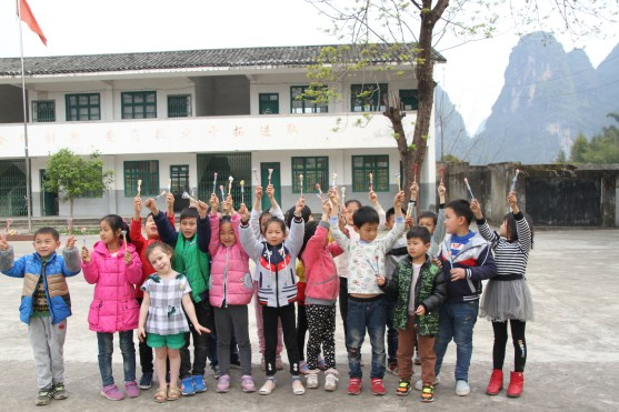 My daughter and the primary school