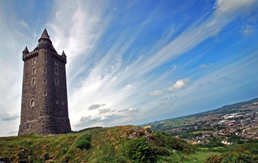 Scrabo Tower in Co. Down