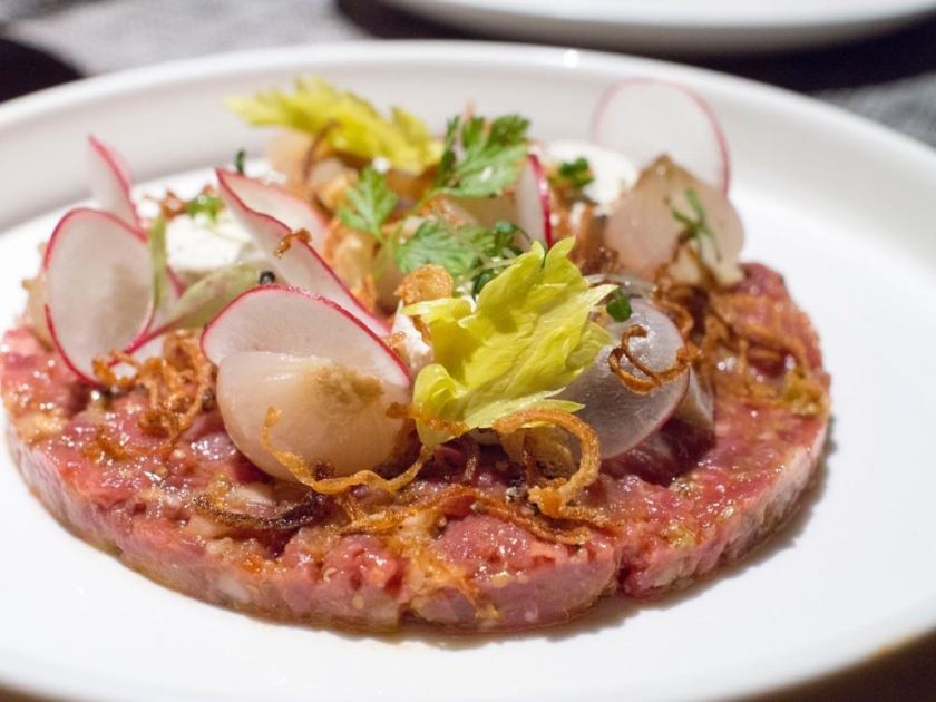 Beef Tartare at Atto Primo, Shanghai