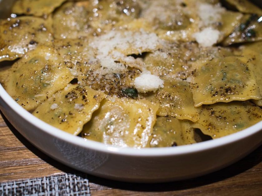 Meat Stuffed Piedmont Style Agnolotti at Atto Primo, Shanghai