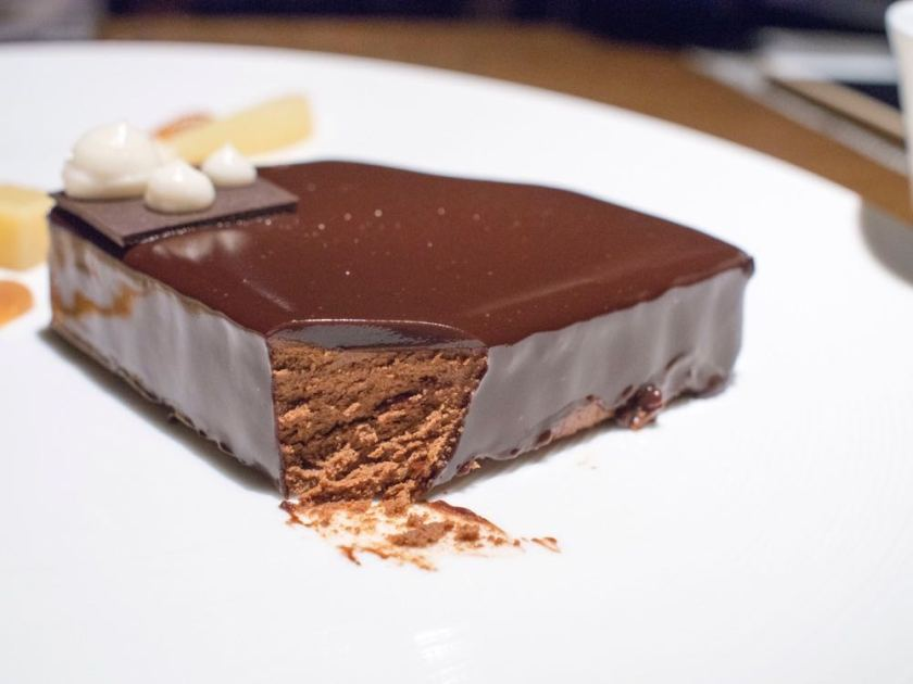 Chocolate Cake at Atto Primo, Shanghai