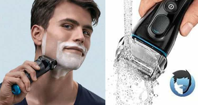 Wet and dry Braun series 5 electric shaver