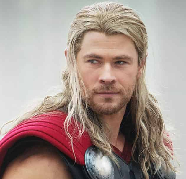 Thor Long Hairstyle