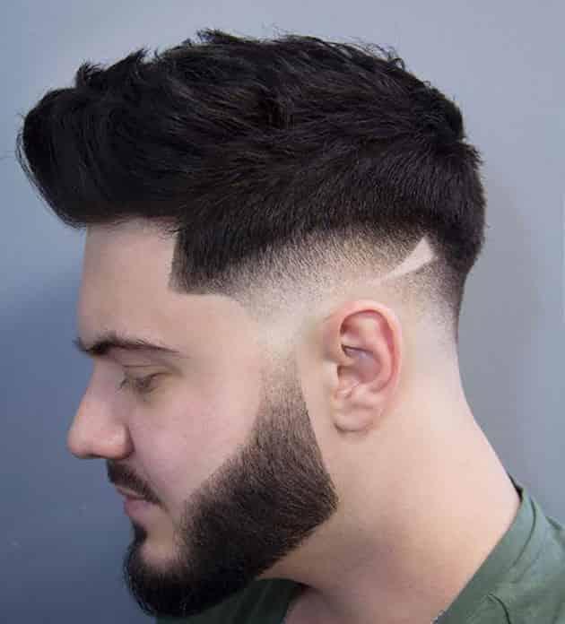 maverick hair cutting style