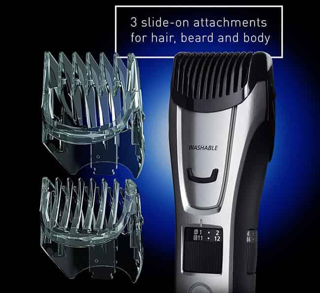Attachement combs of Panasonic GB80 trimmer