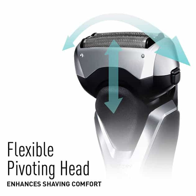 Panasonic ES-RT47-S Arc3 Electric Razor pivoting head