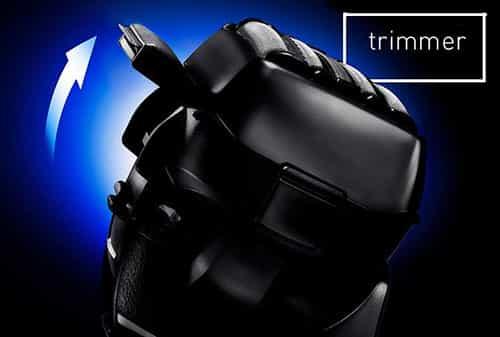 Panasonic ES-LV95-S Arc 5 Electric Shaver popup trimmer