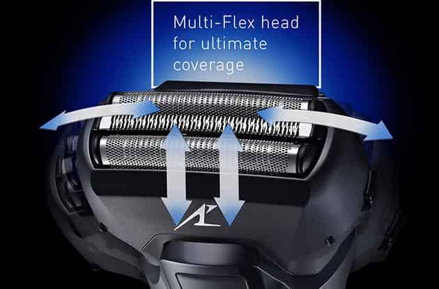 Flexible shaving head of Panasonic Shaver ES-LL41-K
