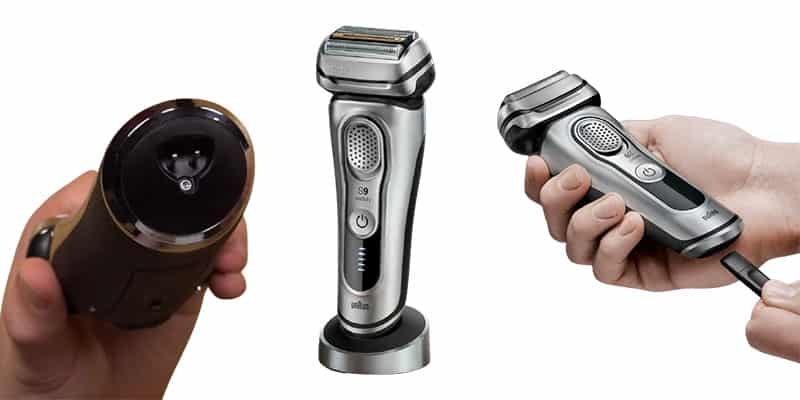 How to charge Braun Series 9 9330s electric shaver