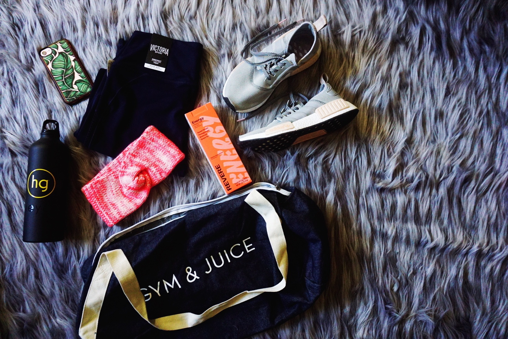 The Shaz Diaries: What's In My Gym Bag