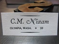 Violin labels!