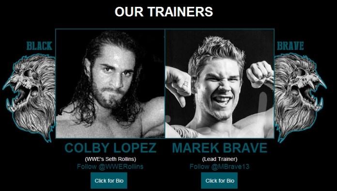 seth rollins Black-and-Brave-Wrestling-Academy