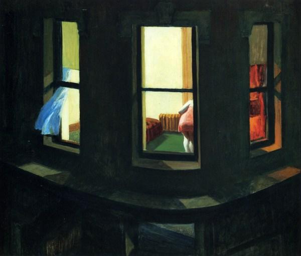 Edward Hopper Night Windows