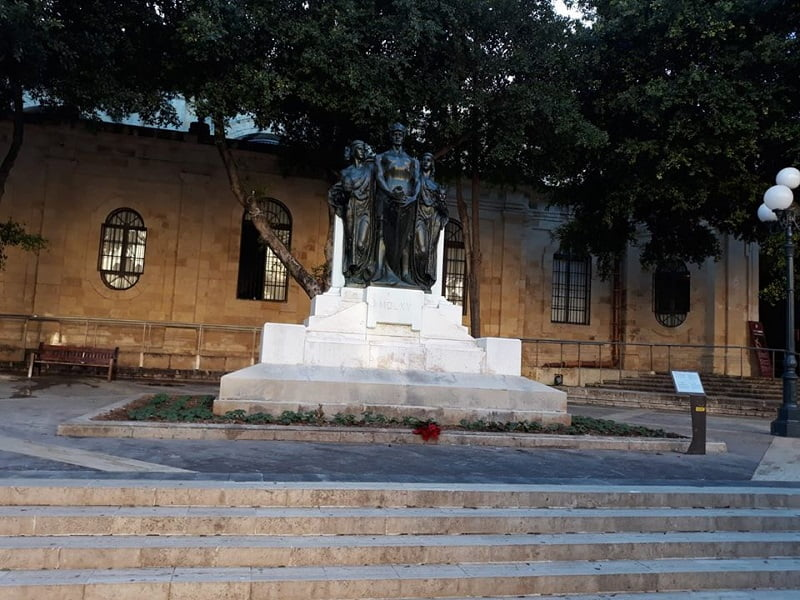 Daphne Caruana Galizia protest memorial