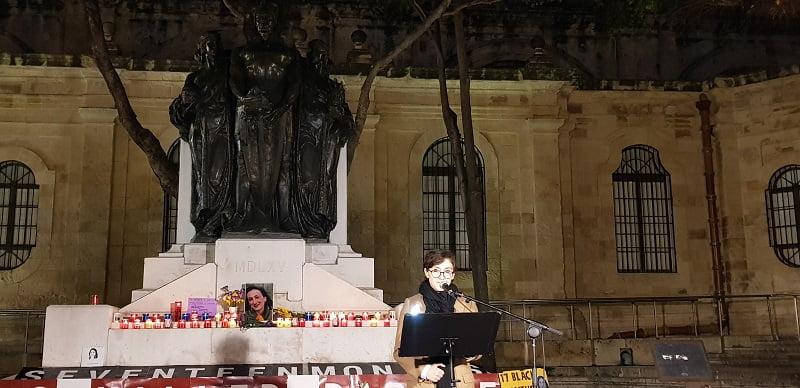 Pelin Unker Daphne Caruana Vigil 17 months