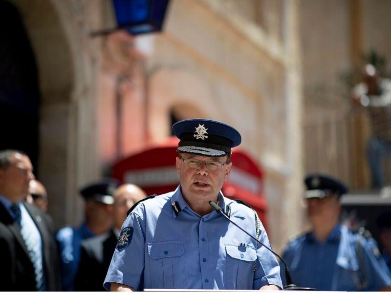 Former Malta police commissioner Lawrence Cutajar.